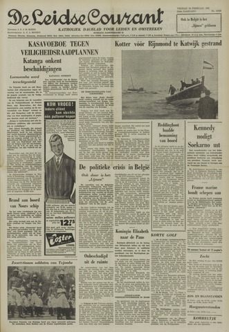 Leidse Courant 1961-02-24