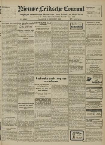 Nieuwe Leidsche Courant 1939-11-06