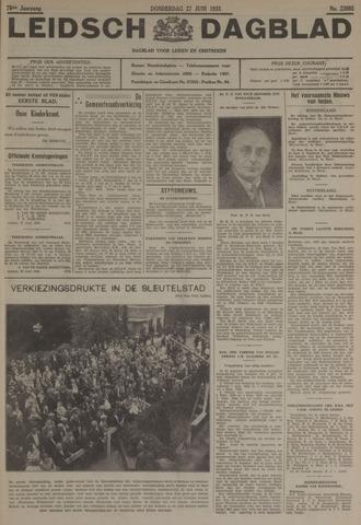 Leidsch Dagblad 1935-06-27