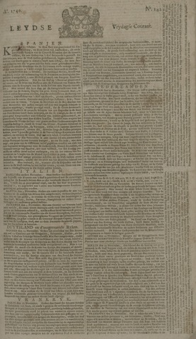 Leydse Courant 1740-11-25