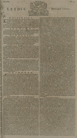 Leydse Courant 1726-02-25