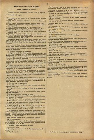 Handelingen van de Raad 1887-07-28