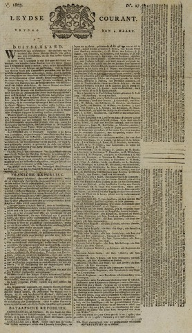 Leydse Courant 1803-03-04