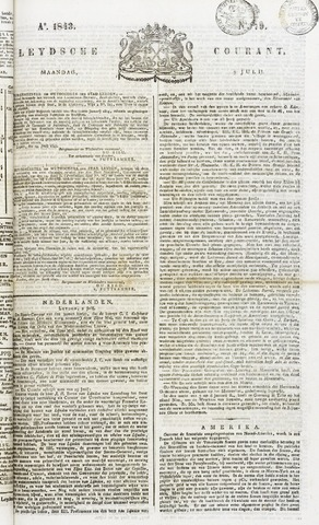 Leydse Courant 1843-07-03