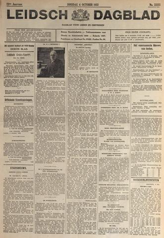 Leidsch Dagblad 1932-10-04
