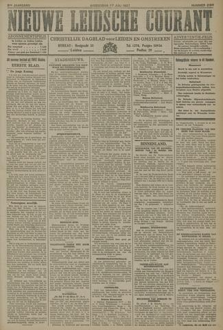 Nieuwe Leidsche Courant 1927-07-27