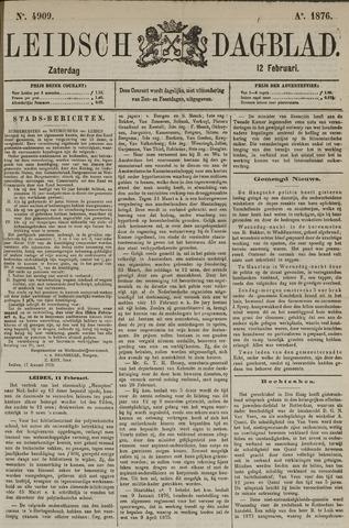 Leidsch Dagblad 1876-02-12