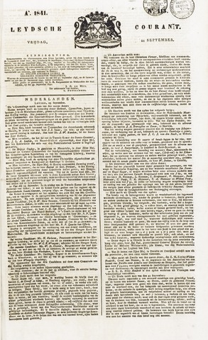 Leydse Courant 1841-09-24