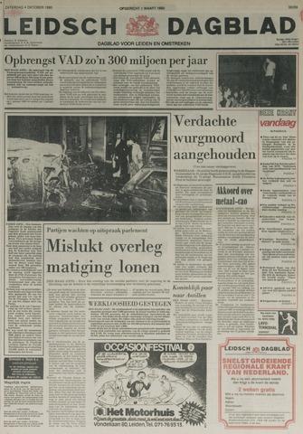 Leidsch Dagblad 1980-10-04