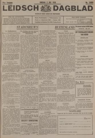 Leidsch Dagblad 1938-07-05