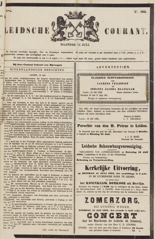 Leydse Courant 1884-07-14