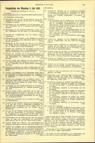 Handelingen van de Raad 1935-07-08