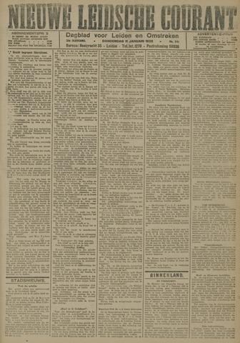 Nieuwe Leidsche Courant 1923-01-11