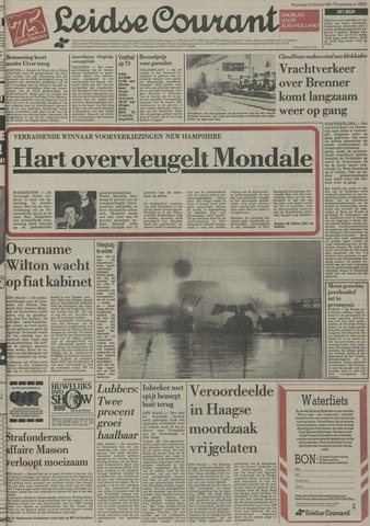 Leidse Courant 1984-02-29