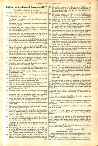 Handelingen van de Raad 1917-08-30
