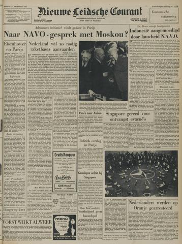 Nieuwe Leidsche Courant 1957-12-17