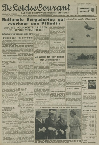Leidse Courant 1958-05-21