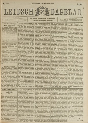 Leidsch Dagblad 1901-09-16