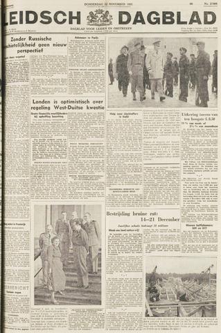 Leidsch Dagblad 1951-11-22