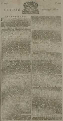 Leydse Courant 1734-08-25