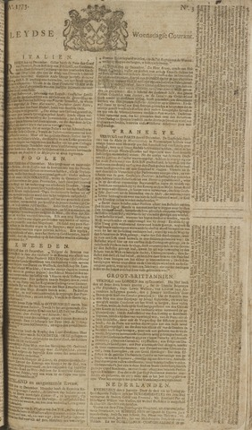 Leydse Courant 1773-01-06