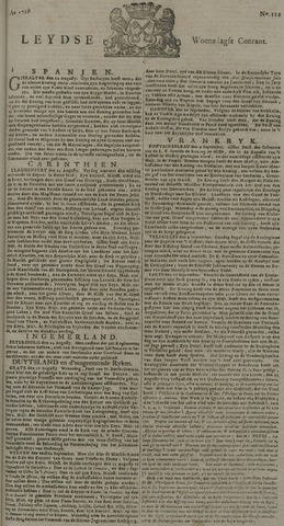 Leydse Courant 1728-09-15