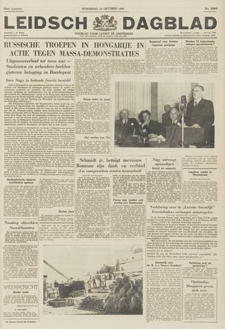 Leidsch Dagblad 1956-10-24