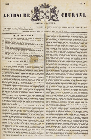 Leydse Courant 1882-01-10