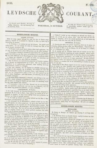Leydse Courant 1855-10-31