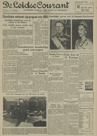Leidse Courant 1955-01-07