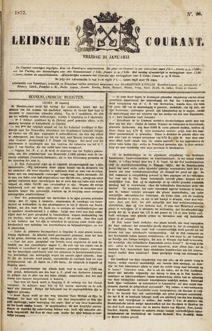 Leydse Courant 1873-01-31