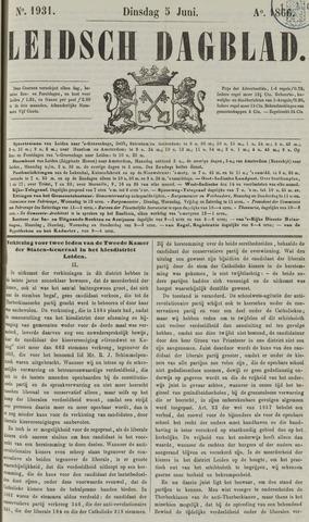 Leidsch Dagblad 1866-06-05