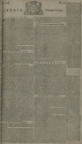 Leydse Courant 1748-08-23