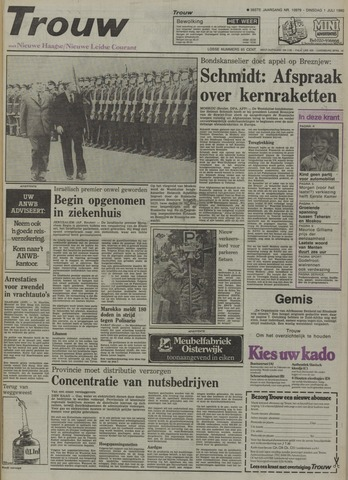 Nieuwe Leidsche Courant 1980-07-01