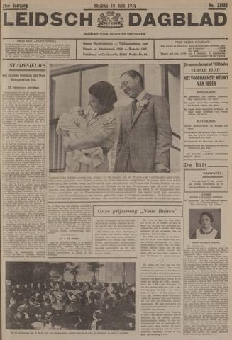 Leidsch Dagblad 1938-06-10