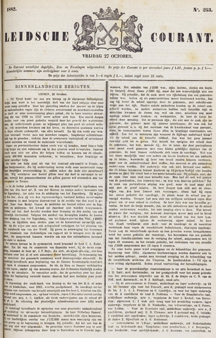 Leydse Courant 1882-10-27
