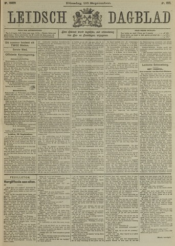 Leidsch Dagblad 1911-09-26