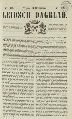 Leidsch Dagblad 1863-12-11