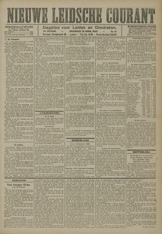 Nieuwe Leidsche Courant 1923-04-16