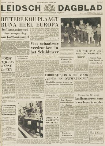Leidsch Dagblad 1962-12-24