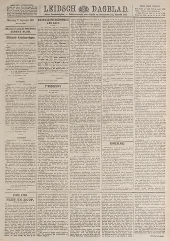 Leidsch Dagblad 1919-09-17