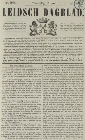 Leidsch Dagblad 1866-06-13