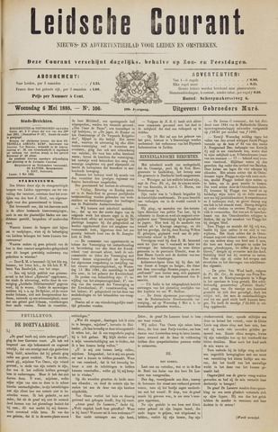 Leydse Courant 1885-05-06