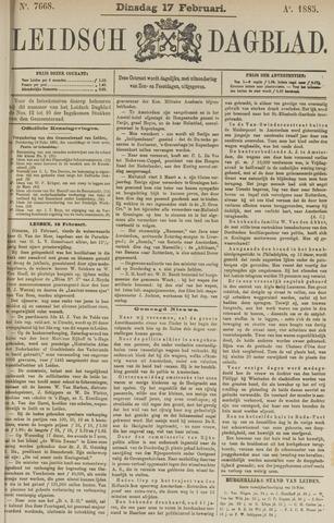 Leidsch Dagblad 1885-02-17