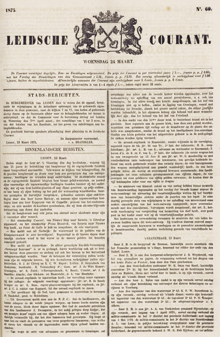 Leydse Courant 1875-03-24