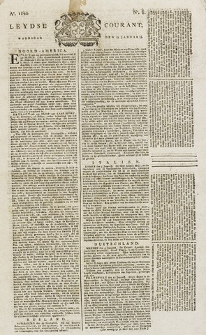 Leydse Courant 1820-01-19