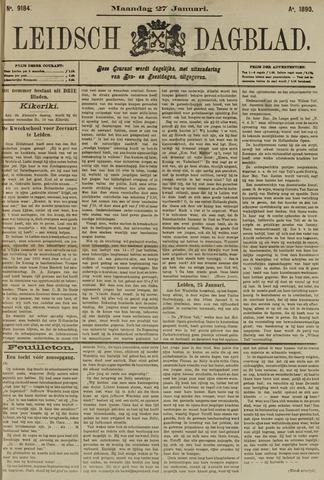 Leidsch Dagblad 1890-01-27