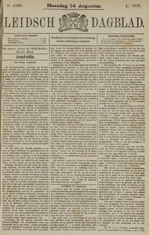 Leidsch Dagblad 1882-08-14