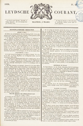 Leydse Courant 1850-03-04