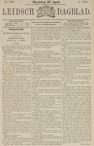 Leidsch Dagblad 1885-04-27